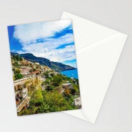 Amalfi Coast Italy Positano Stationery Cards