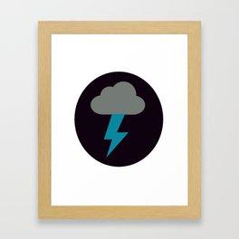 Lightning Strike Great For A Gift Framed Art Print