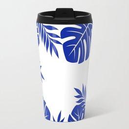 Paradise in cobalt Travel Mug