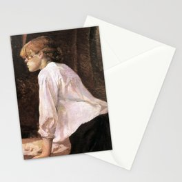The Laundress by HT-L Stationery Cards