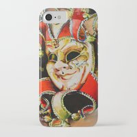 clown iPhone & iPod Cases featuring CLOWN by ArtPavo