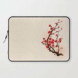 Oriental plum blossom in spring 012 Laptop Sleeve