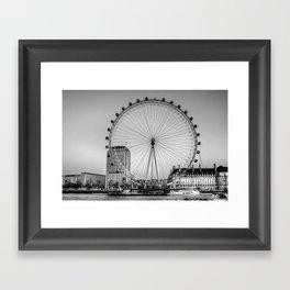 London Eye, London Framed Art Print