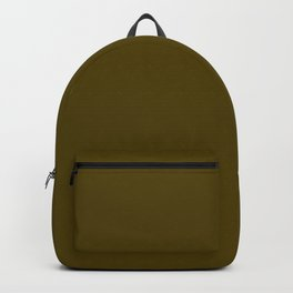 Dark Bronze (Coin) - solid color Backpack
