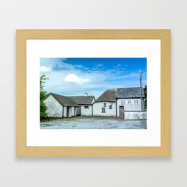 The Irish Bar Framed Art Print