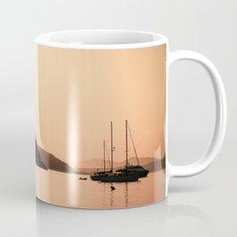 Sardinia Sunset at Capo Coda Cavallo Coffee Mug