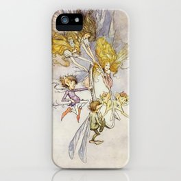 """""""The Magic Mirror"""" by Duncan Carse iPhone Case"""