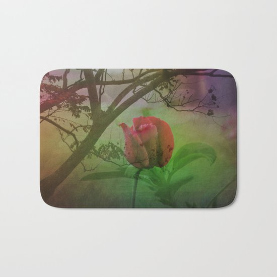 Dipped in Dew, Nestled by Nature Bath Mat