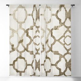 Moroccan Gold IV Blackout Curtain