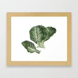 Collards Framed Art Print