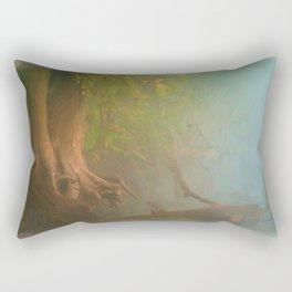 Gnarled and Broken Rectangular Pillow