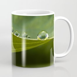 little dew drops all in a row Coffee Mug