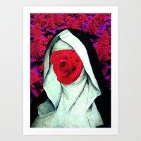 Sweety sister Art Print
