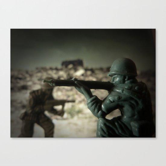 War Games No. 3 Canvas Print