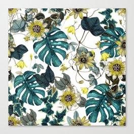 Tropical Flowers V Canvas Print