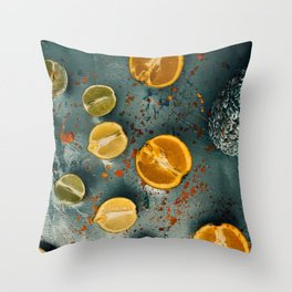 Fruity Foto Four Throw Pillow