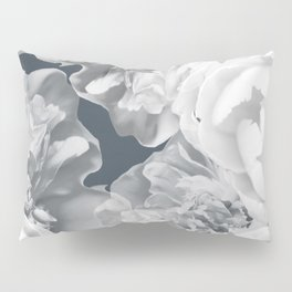Elegant Peony Bouquet Gray Monochrome #decor #society6 #buyart Pillow Sham