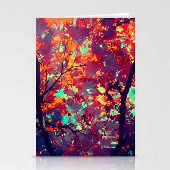 autumn tree X Stationery Cards