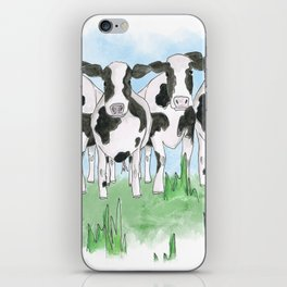 A Field of Cows iPhone Skin