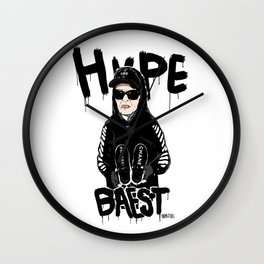 Hypebaest Wall Clock