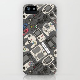 Video Game Controllers in True Colors iPhone Case