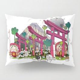 Fuji Scene Pillow Sham