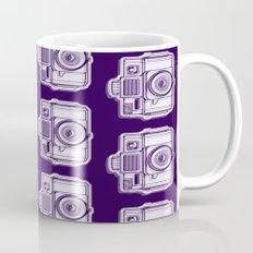 I Still Shoot Film Holga Logo - Reversed Deep Purple Mug