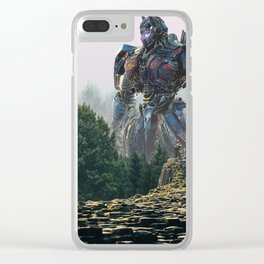 TRANFORMERS Clear iPhone Case