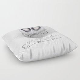 Owl cassette Floor Pillow