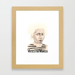Loveface Framed Art Print