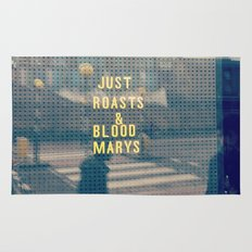 Just Roasts & Bloody Marys Rug