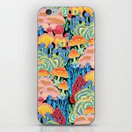 Fungi World (Mushroom world) - BKBG iPhone Skin