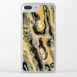 Leopard Jasper Clear iPhone Case