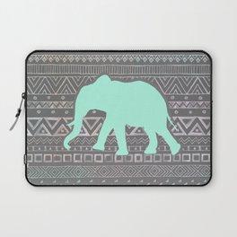Mint Elephant  Laptop Sleeve
