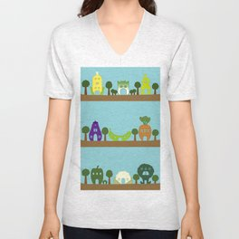Vege House Unisex V-Neck