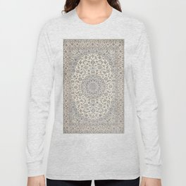 Bohemian Farmhouse Traditional Moroccan Art Style Texture Long Sleeve T-shirt