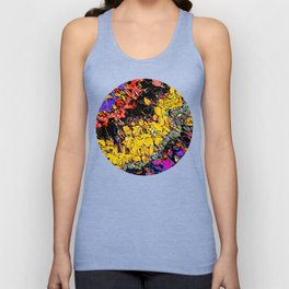 Shifting Shapes And Colors Unisex Tank Top
