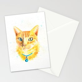 Pony the cat Stationery Cards
