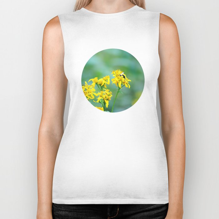 Bee Happy Biker Tank