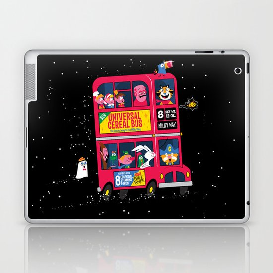 Universal Cereal Bus Laptop & iPad Skin
