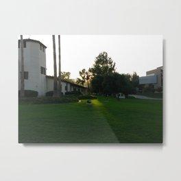 A Slice of Light Metal Print