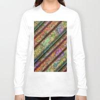 art deco Long Sleeve T-shirts featuring ART Deco Pattern by gabiw Art