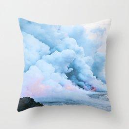 Smoke On The Water Throw Pillow