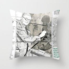 T.S. Eliot Throw Pillow