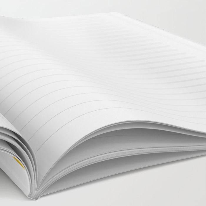 Dotty Tri abstract minimal texture brushstroke boho minimalism painting hipster geometric dorm  Notebook