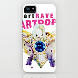 ARTPOP artRAVE iPhone Case