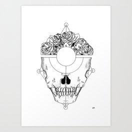 Body with no Surprises Art Print