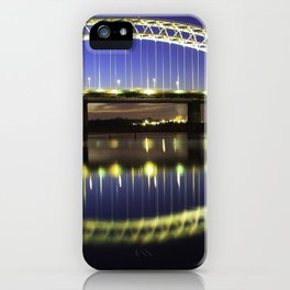 Sunset Across the Mersey iPhone Case