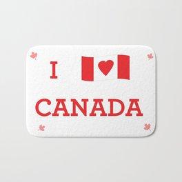 I heart Canada Bath Mat