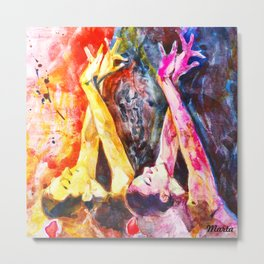 Teach her to dance Metal Print